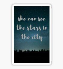 Stars in the City Sticker