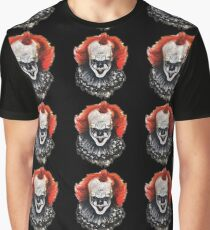 Pennywise Watercolour Graphic T-Shirt