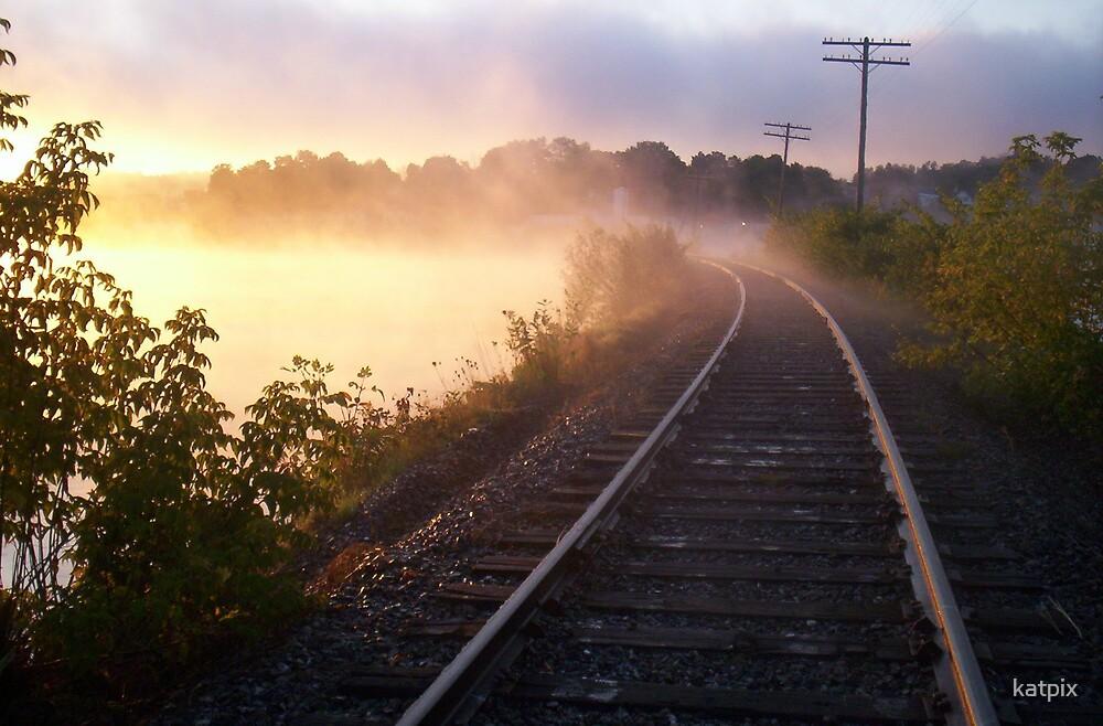 Sun Through the Fog by katpix