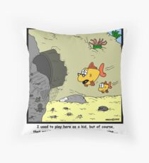 Sewer Pipe Throw Pillow