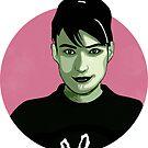 Women of Punk - Kathleen Hanna  by danellemichaud