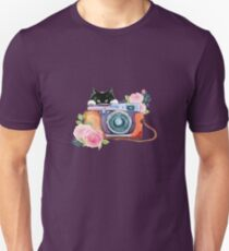 Cat Lover Photographer  T-Shirt