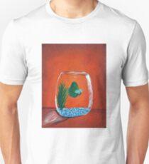 Betta Fish Acrylic Painting Unisex T-Shirt