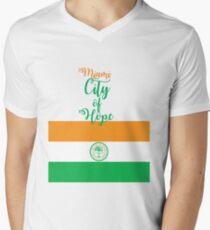 Miami City of Hope Men's V-Neck T-Shirt