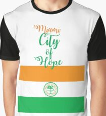 Miami City of Hope Graphic T-Shirt