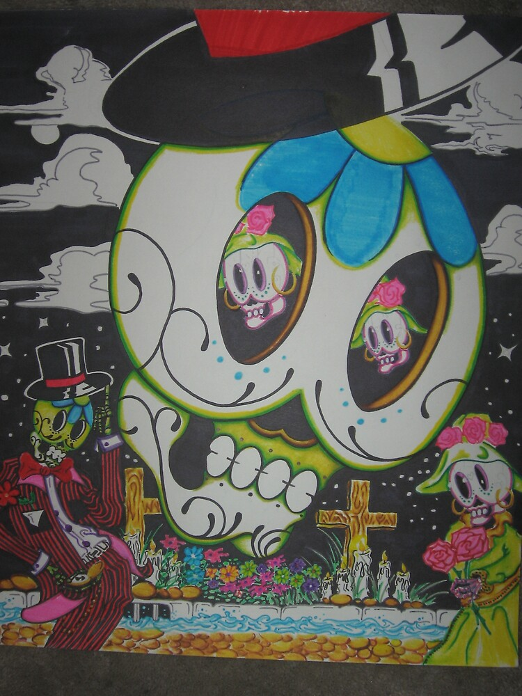 """re-united """"sugar skull's"""" by angell303"""