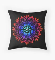 Peaceful Mandala Design Throw Pillow