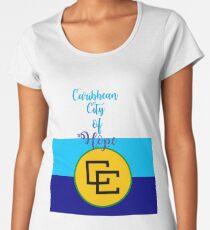 Caribean City of Hope Women's Premium T-Shirt