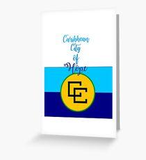 Caribean City of Hope Greeting Card