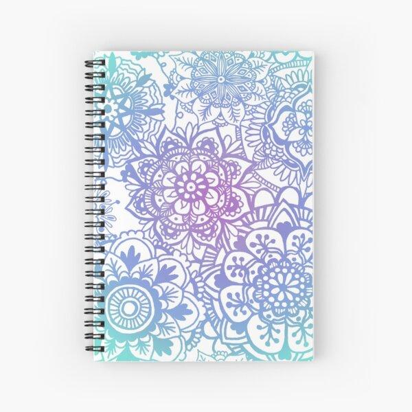 Pastel Mandala Pattern Spiral Notebook