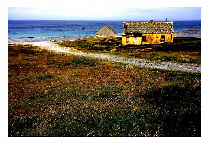 Inis Oirr Beach house by alanoluain