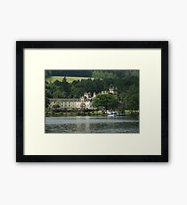 Cameron House Hotel & Country Club Loch Lomond & Seaplane Framed Print