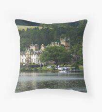 Cameron House Hotel & Country Club Loch Lomond & Seaplane Throw Pillow
