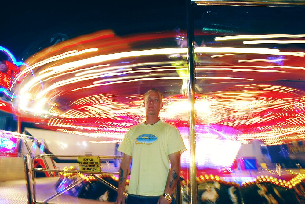 fun fair , lights and fast rides  by cool3water