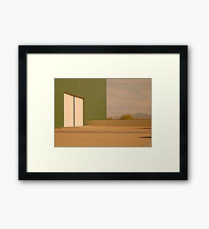 Abstract Arizona Framed Print