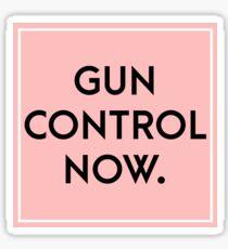Gun control now [public health] Sticker