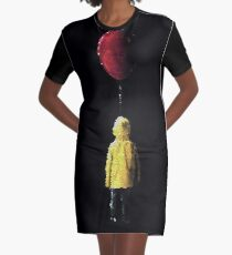 It Georgie Stained Glass Graphic T-Shirt Dress