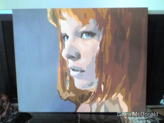 LEELOO- FIFTH ELEMENT by Laura McDonald