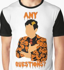 David Pumpkins-SNL Graphic T-Shirt