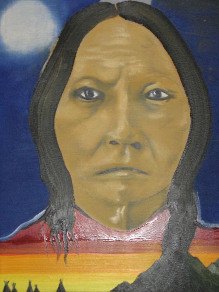 """young """"sitting bull"""" by angell303"""