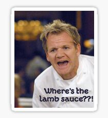 Lamb Sauce? Sticker