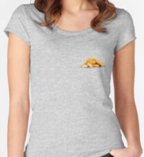 them good chicken nuggets Women's Fitted Scoop T-Shirt
