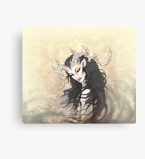 Whitestag Faun Canvas Print