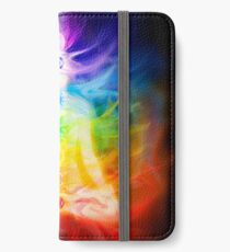 Chakras and energy flow on human body art photo print iPhone Wallet/Case/Skin