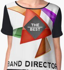 BAND DIRECTOR - NICE DESIGN FOR YOU Chiffon Top