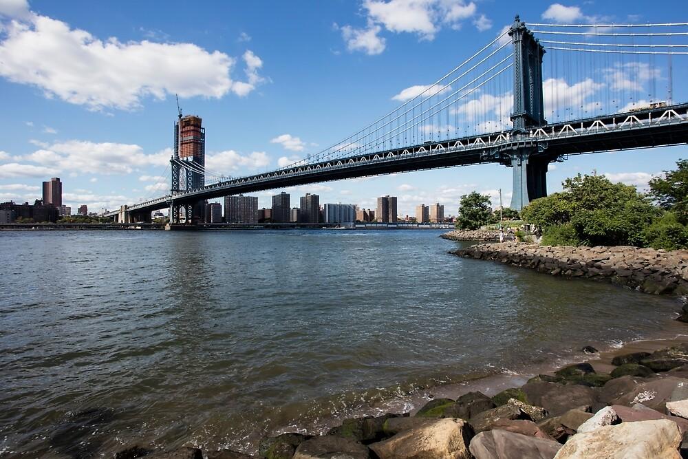 Manhattan Bridge, New York.  by Michael Stocks
