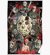 Friday the 13th - Jason Voorhees Poster