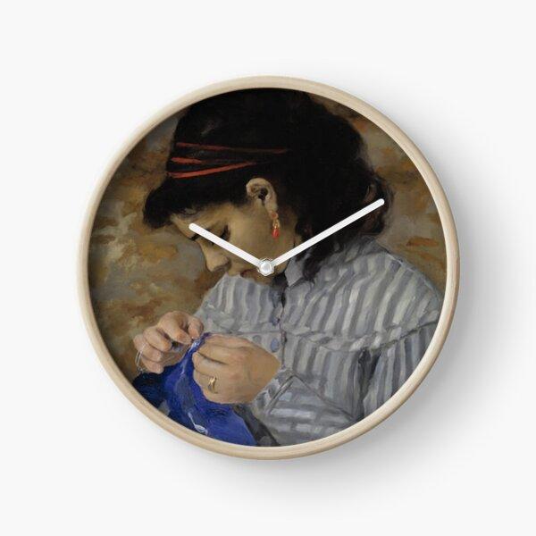 Lise Sewing, 1866, Dallas Museum of Art Clock