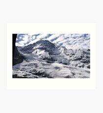 Northern Wall Of The Jungfrau (13,642 ft) Art Print