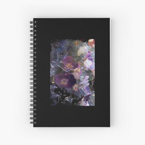 Fairy Rose Spiral Notebook
