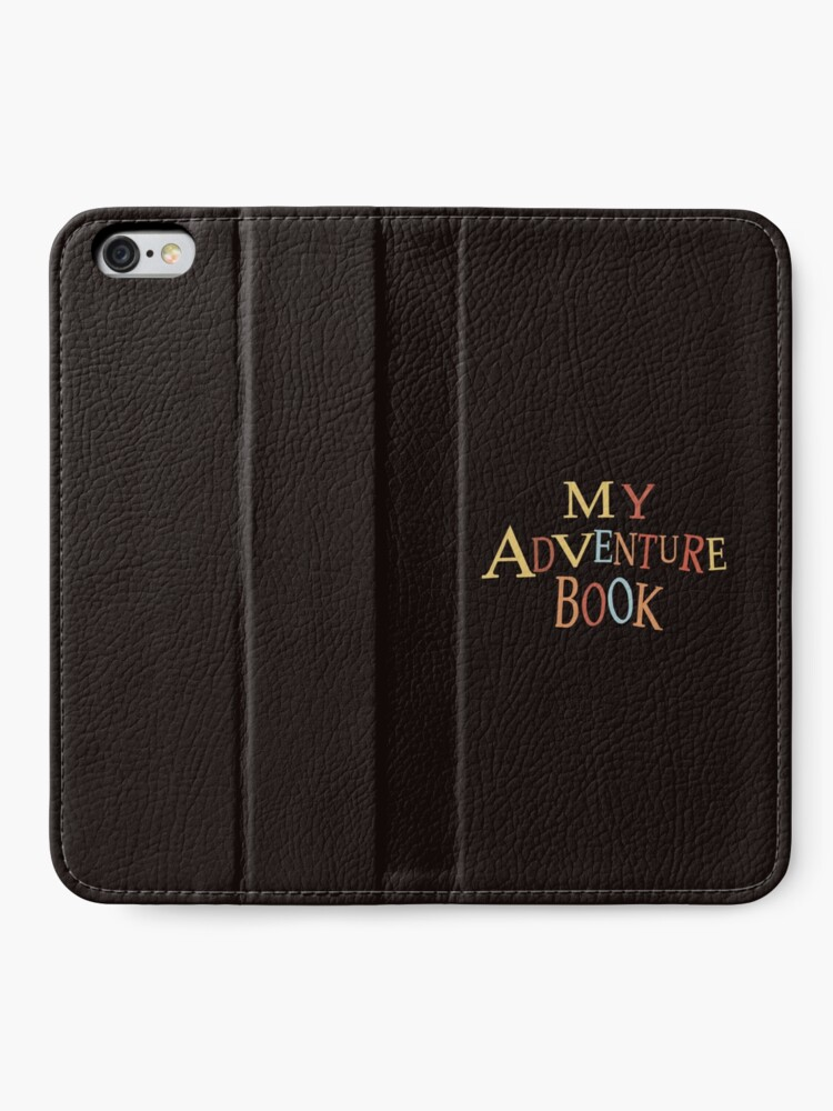 Alternate view of thanks for the adventure iPhone Wallet