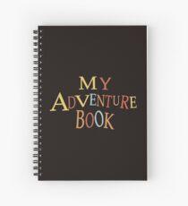 Cuaderno de espiral gracias por la aventura