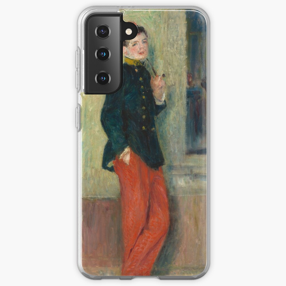 The Young Soldier oil Painting by Auguste Renoir Case & Skin for Samsung Galaxy