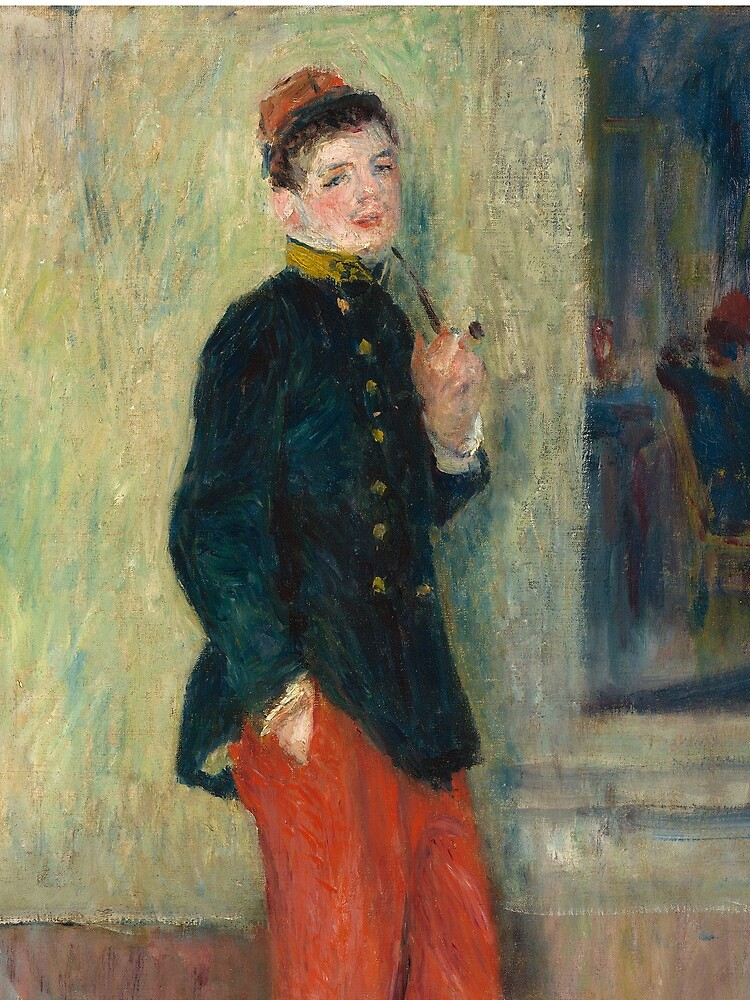 The Young Soldier oil Painting by Auguste Renoir by podartist