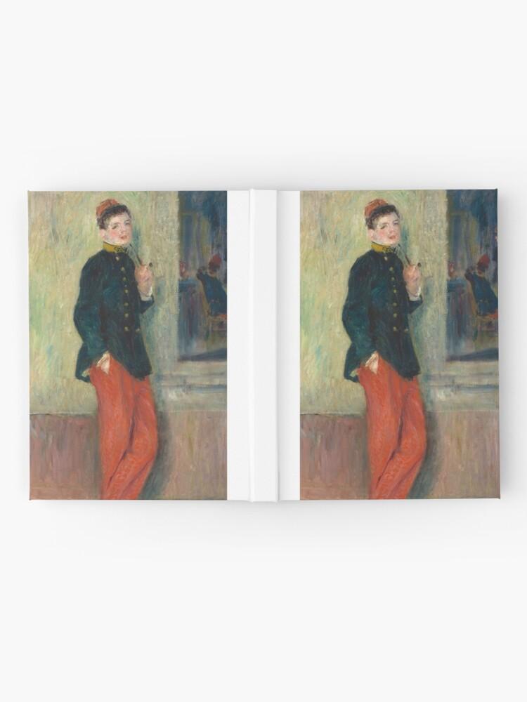 Alternate view of The Young Soldier oil Painting by Auguste Renoir Hardcover Journal