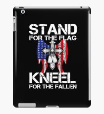 Stand For the Flag Knee For the Fallen iPad Case/Skin