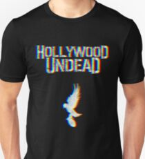 Hollywood Glitched Slim Fit T-Shirt