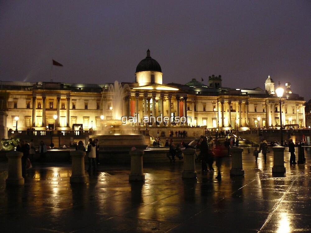 Trafalgar Square by gail anderson