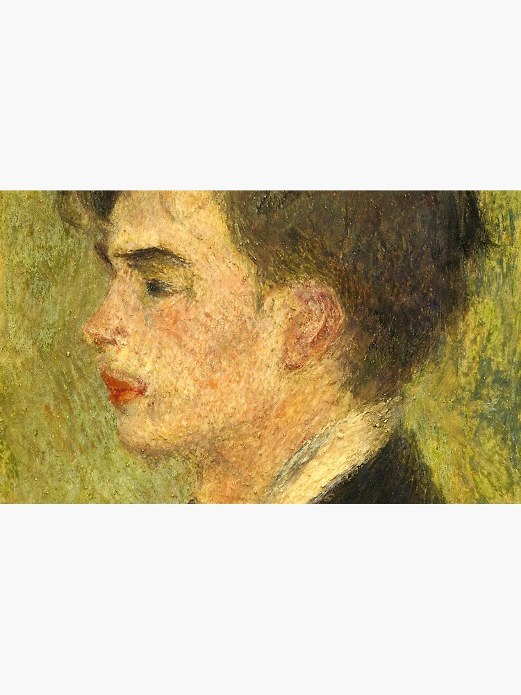Georges Rivière Oil Painting by Auguste Renoir by podartist