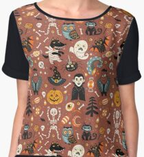 Happy Halloween Women's Chiffon Top