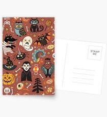 Fröhliches Halloween Postkarten