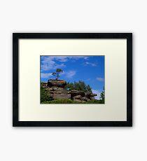 Brimham Rocks 5 Framed Print