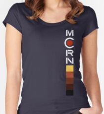 MCRN Banner Vertical Women's Fitted Scoop T-Shirt