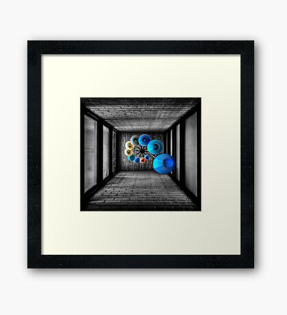 Dreams Of Shade And Light Framed Print