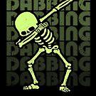 «Dabbing Skeleton Type Glow Effect» de vomaria