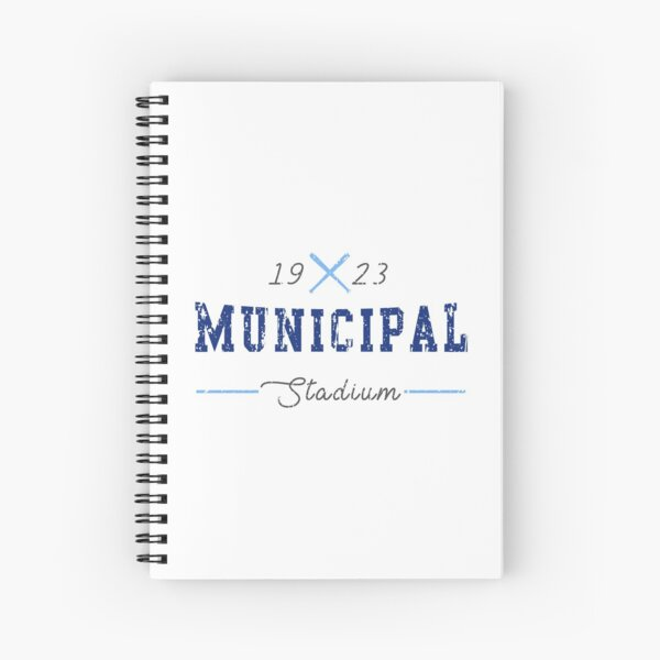 Municipal Stadium Spiral Notebook